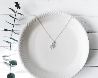Cute Origami Unicorn Necklace