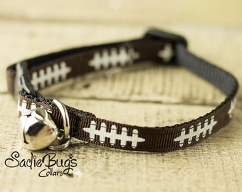 Football cat collar