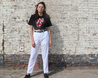 High waisted vintage trousers, deadstock vintage