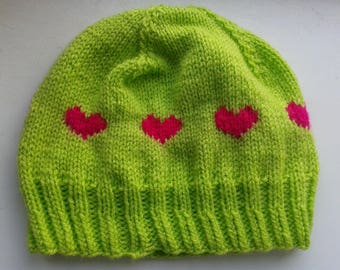 Spring Love Hat pattern