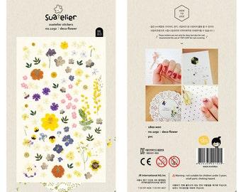 Deco Flower Sticker, Flower Sticker, Sonia Sticker