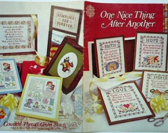 Cross Stitch Booklet One Nice Thing After Another