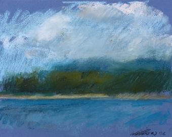 Hawaii, Land, Water, Sky, Three