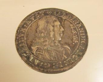 1654 Thaler Austria  Nice Coin   @ A Village Coin Bullion Both 3/31/1 B