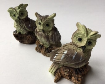 Miniature Owls