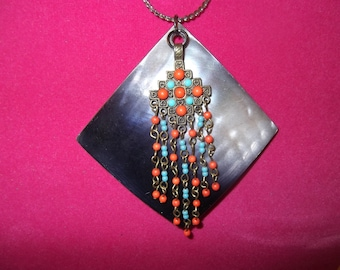 Boho Mother of Pearl Necklace