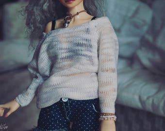 BJD Sheer Big Sweater
