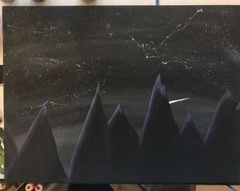 Mountains and Starry Skies