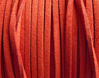 1 m red cord 2.5 mm P0250