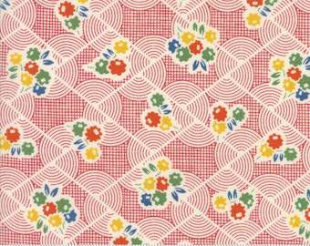 Hop, Skip, and a Jump!, 21709-11 flower bouquet, by American Jane for moda fabrics