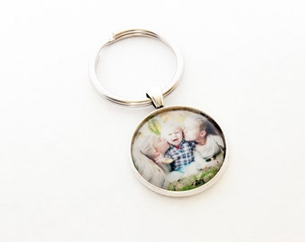 Photo Keyring / Photo Keychain / Custom Photo Keychain / Personalized Photo Gift / Picture Jewelry / Photo Jewelry / Personalized Gift