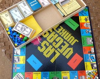 Vintage Board Game Las Vegas Junket 1979