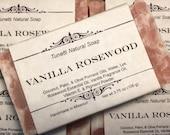 Vanilla Rosewood Soap, Na...