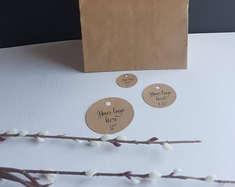 Product Hang Tags - Price Tags - Logo Tags - Round
