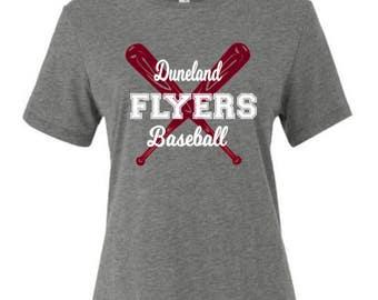 Duneland Flyers Baseball Spirit Wear T-Shirt