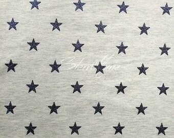 Jersey Magic Stars-Ecru Melange