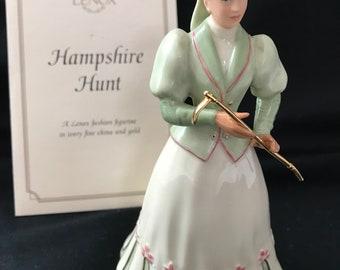 """Vintage Lenox """"Hampshire Hunt"""" Figurine"""