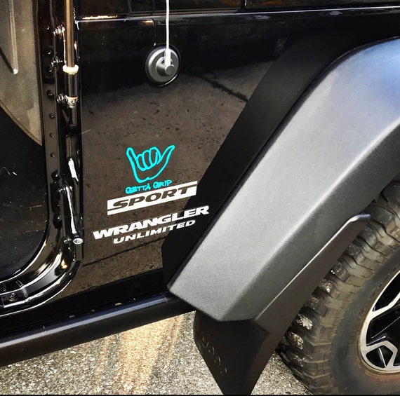 Getta Grip Jeep Decals