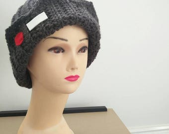 Jughead Jones inspired Beanie crochet handmade Riverdale Hat