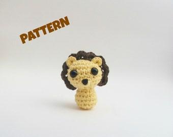 Amigurumi Lion Pattern, Crochet Lion Pattern, Baby Toy Pattern, Crochet Baby Pattern, Amigurumi Baby Pattern, Crochet Amigurumi Pattern