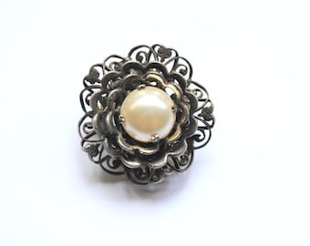 Vintage french brooch/ dress-clip