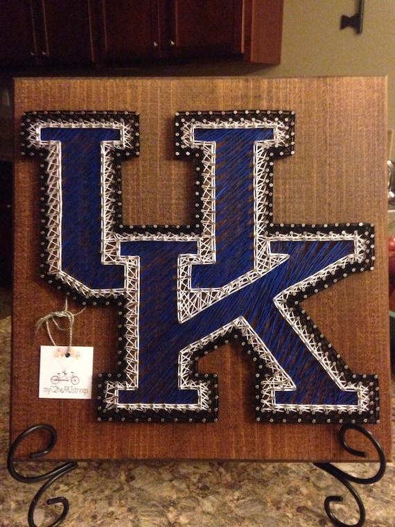 String art University of Kentucky Wildcats