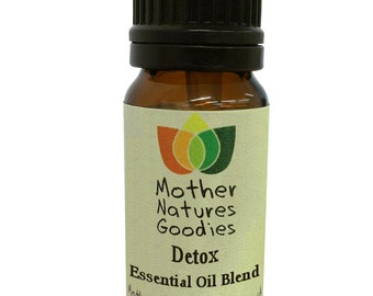Detox & Cellulite Essential Oil Blend 10 ml. Pure Natural Aromatherapy by Mother Natures Goodies