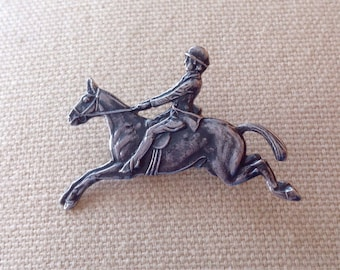 charming Vintage Kenart Equestrian Brooch