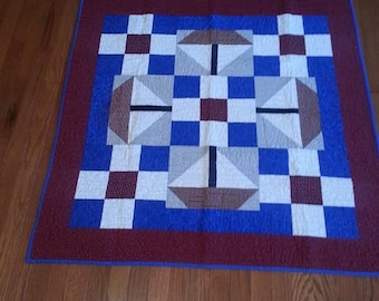 Quilts,  Boys quilt, Kids bedding, Handmade Quilts, Colorful Quilt, Baby Gift Idea, My Little Sail Boat Baby Quilt