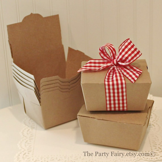 Michaels Brown Favor Boxes : Kraft boxes brown favor carry out food box