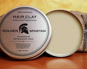 Hair Clay - The Golden Spartan