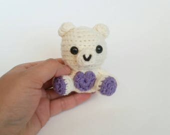 Mini Crochet Polar Bear