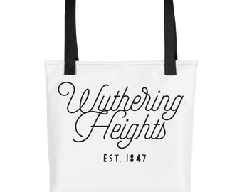 Wuthering Heights - Bronte Classic Novel - Book Tote bag
