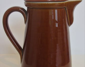 1950's Denby Stoneware Coffee Pot