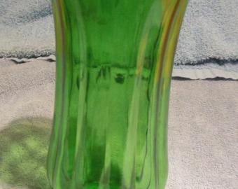 Vintage Large Green Flower Vase (Profile 1900 printed on bottom)