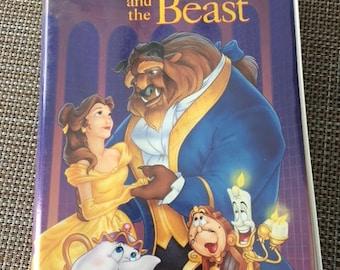 Beauty And The Beast Black Diamond VHS Disney Classic Tape