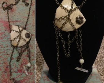 Sea Witch, Shell, Chain Necklace, Sea life