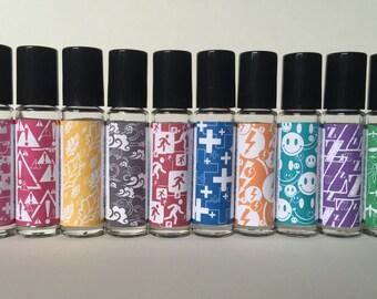 DIGITAL Essential Oil Labels - Rollers and Sprays Series1
