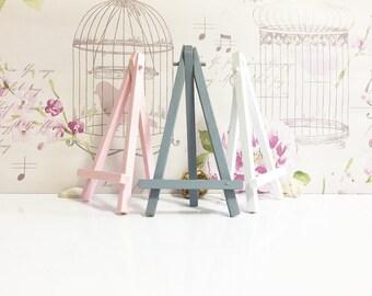 Wedding - Easel - Housewarming Gift - Custom - Wedding Decor - Table number - Nursery Decor - Home Decor - Place card Holder