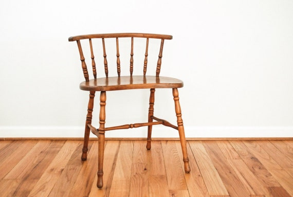 Like this item? - Antique Wood Chair Antique Windsor Spindle Back Chair Rare