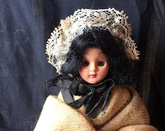 Rare Vintage Carlson Celluloid Doll - 1950