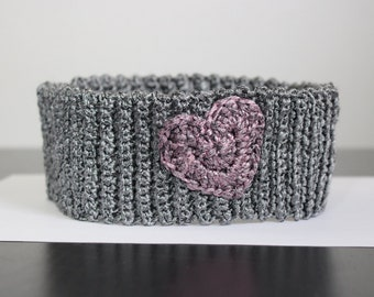 Headband with heart