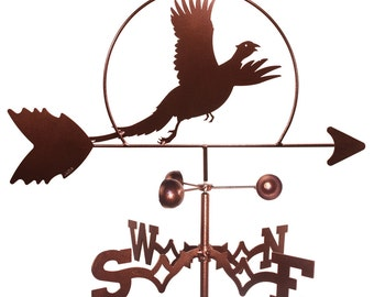 Hand Made Pheasant Bird Weathervane NEW
