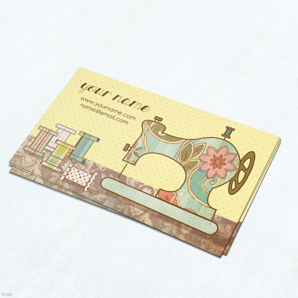 Free Printable Sewing Business Cards Gallery - Card Design And Card ...