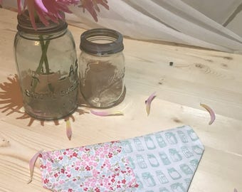 Gone Country Chic Rustic Floral Mason Jar Over The Collar Dog Bandana