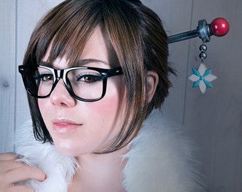 Snowflake Hair Stick : Mei Overwatch
