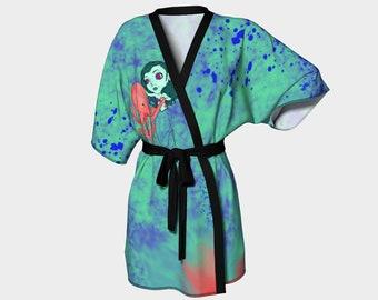 The Dance Kimono Robe