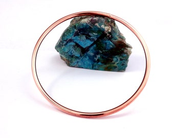Stacking Copper Bangle |Stacking Copper Bracelet | Round Copper Bracelet |Arthritis Copper Bracelet | Copper Bangle | Free shipping