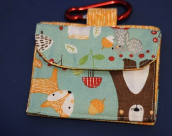 Forrest friends treat and poo bags bag
