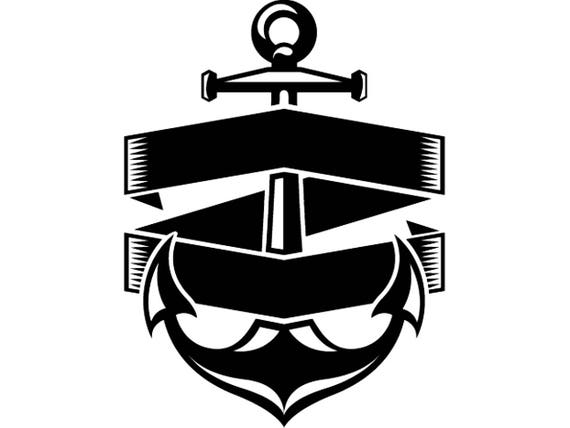 Anchor logo 9 boat skipper banner ship nautical marine thecheapjerseys Images
